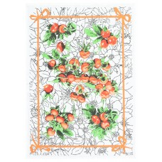 Kitchen towel Belarusian linen 16С153 Dogrose