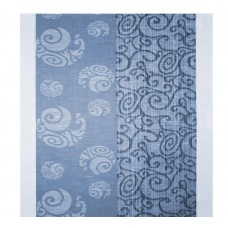 Kitchen towel Belarusian linen 08с74 blue