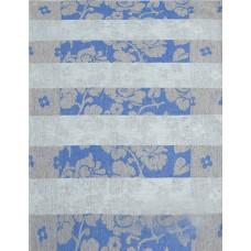 Кухонное полотенце Белорусский лен Дуняша голубое цв.13, р.51