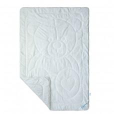 Одеяло детское SoundSleep Cute Мишка махровое 110х140 см белое