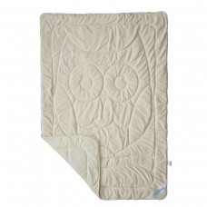 Одеяло SoundSleep Cute Совушка махровое двухстороннее 140х205 см бежевое