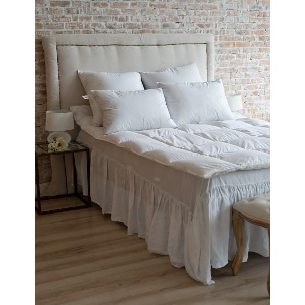 Одеяло зимнее утепленное пуховое кассетное Soaring SoundSleep 155х215 см 800 г