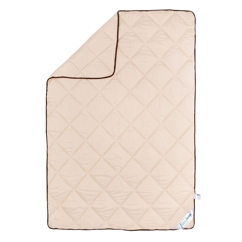 Одеяло шерстяное демисезонное SoundSleep Soft Dreams кремовое 140х205 см
