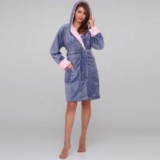 Bathrobe for women Pink Star TM Emily M-L