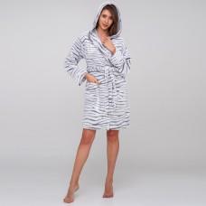 Bathrobe for women Zebra TM Emily M-L