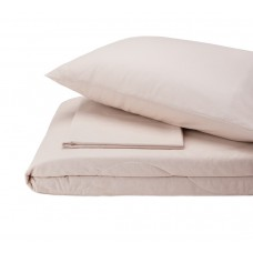 Набор хлопковый Silensa SoundSleep одеяло простынь наволочки бежевый двуспальный