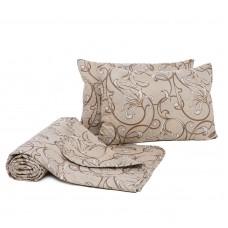 Набор Кливия одеяло-покрывало+подушки ТМ Emily евро
