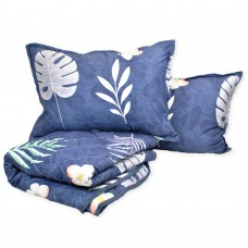 Set of bedspread and pillows Leaves TM Emily