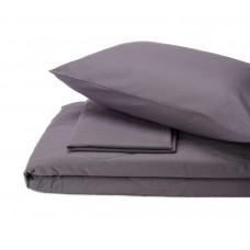 Набор хлопковый Silensa SoundSleep одеяло простынь наволочки графит двуспальный