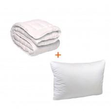 Set Soft bed blanket + pillow TM Emily single