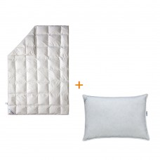 Набор Сны в облаках одеяло + подушка 50х70 SoundSleep полуторный