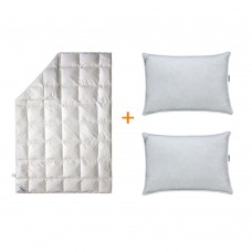 Набор Сны в облаках одеяло + 2 подушки 50х70 SoundSleep евро