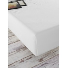 Fitted sheet Stonewash Adriatic SoundSleep milky 180х200 cm