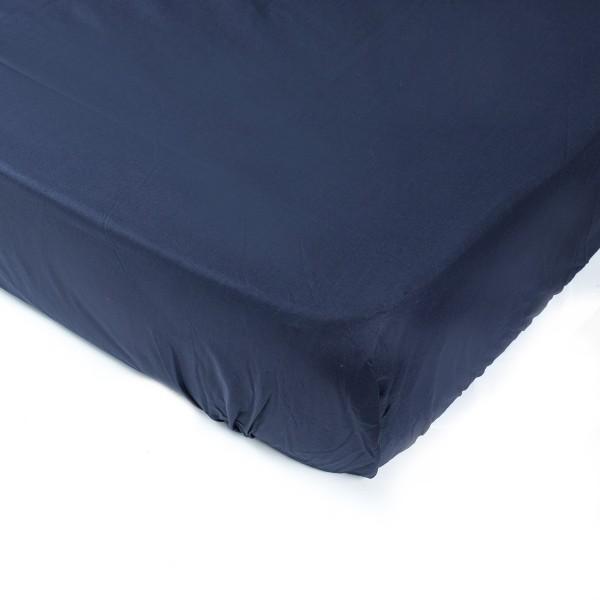Простынь на резинке SoundSleep 160х200 см dark blue 183