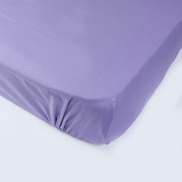 Простынь на резинке SoundSleep 80х200 см фиолетовая