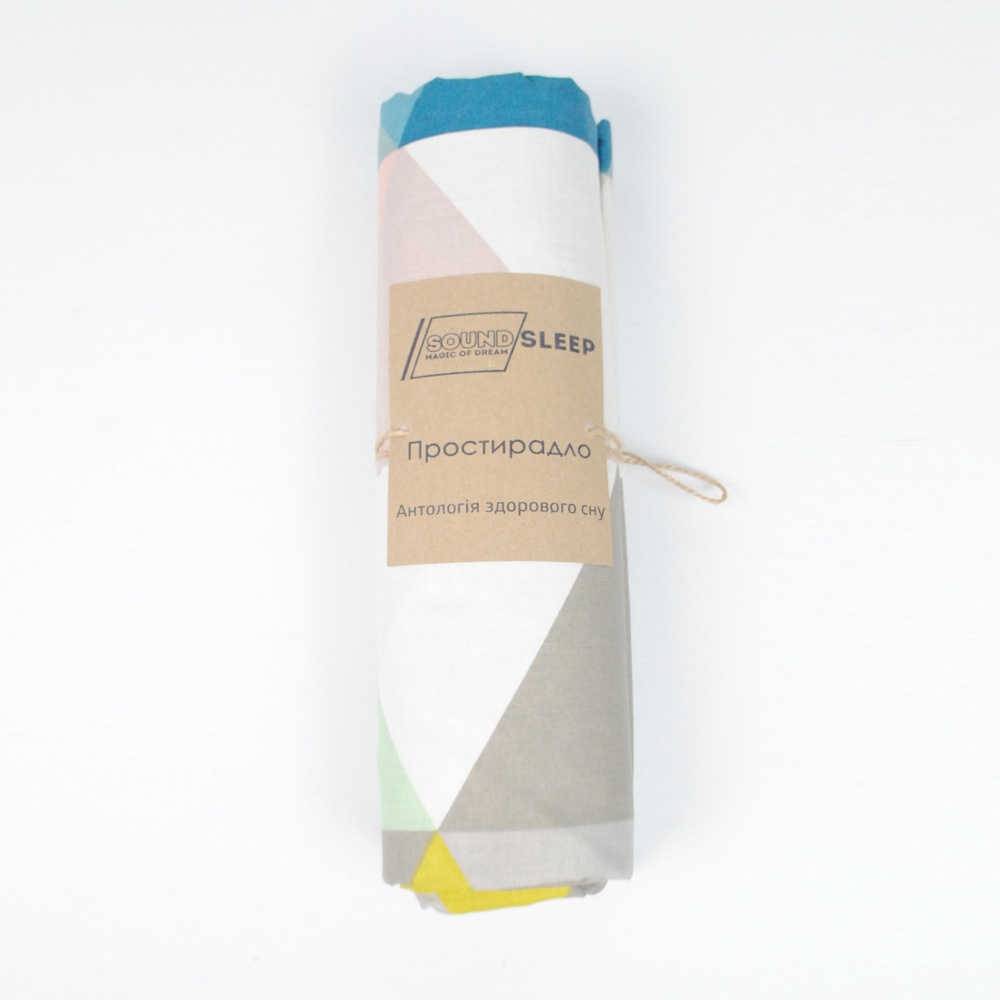Простынь SoundSleep Anglesea ранфорс 160х220 см