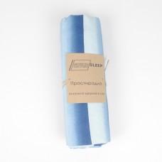 Простынь SoundSleep Stripes ранфорс 160х220 см