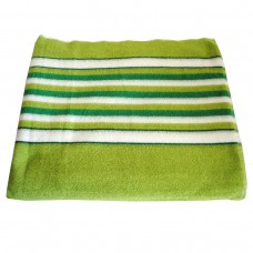 Махровая простыня SoundSleep зеленая 150х220 см