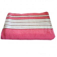Махровая простыня SoundSleep розовая 150х220 см