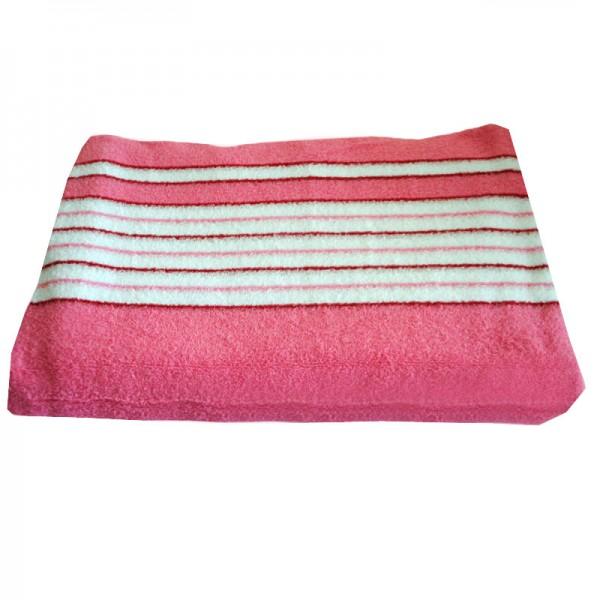 Махровая простыня SoundSleep розовая 190х220 см