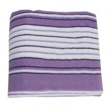 Махровая простыня SoundSleep фиолетовая 150х220см