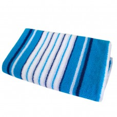 Махровая простыня SoundSleep голубая 150х220 см