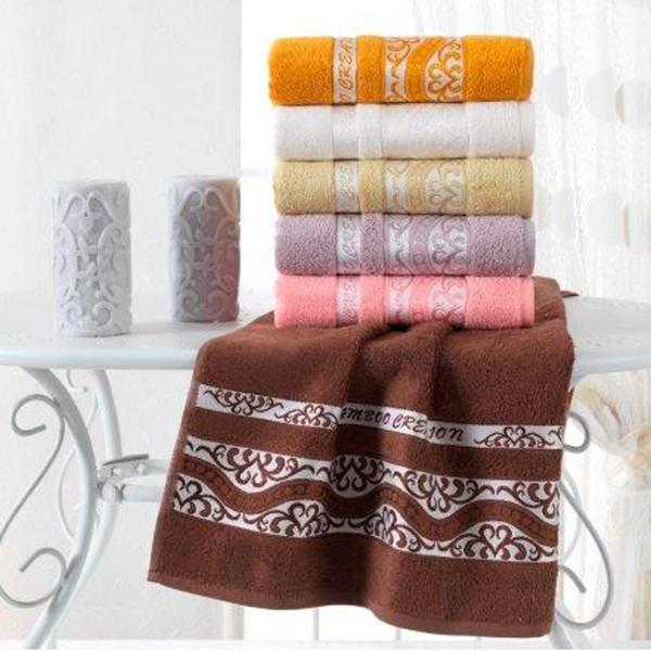Набор махровых полотенец Julia Bamboo Destina 70х140 см