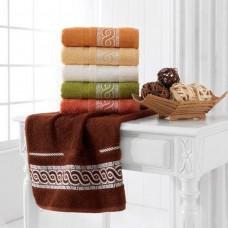 Набор махровых полотенец Julia Bamboo Spiral 50х90см
