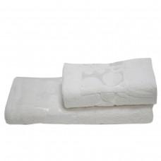 Махровое полотенце Julia Gizli Bahce кремовое 70х140 см