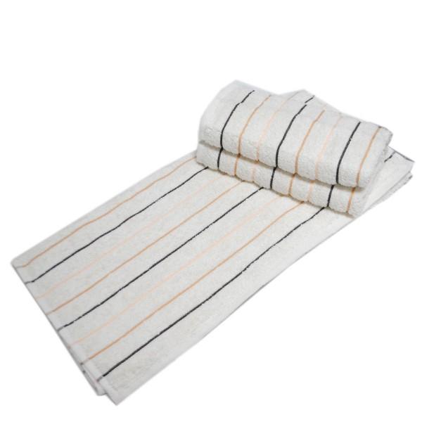 Махровое полотенце Julia Sport Cotton кремовое 70х140 см