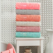 Terry towels set Julia Gizli Bahce 50х90 cm