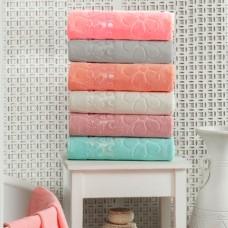 Набор махровых полотенец Julia Gizli Bahce 50х90см