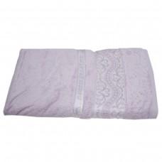 Махровое полотенце Julia Bamboo Destina сиреневое 50х90см