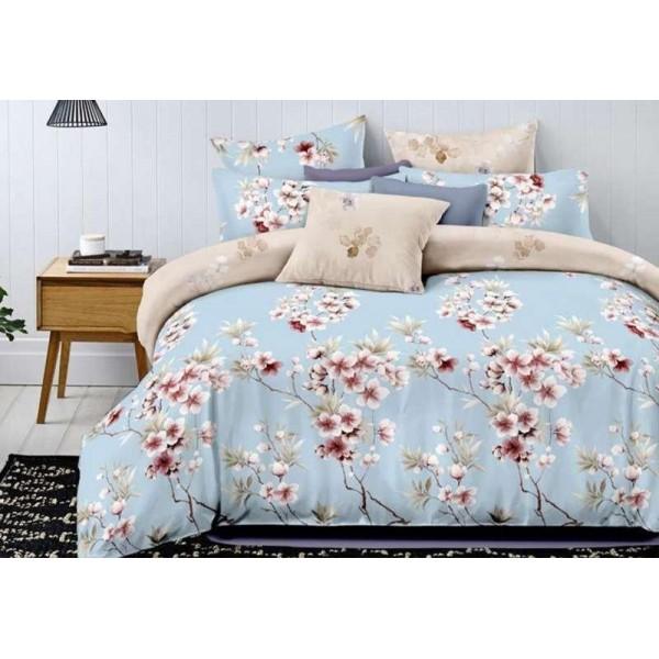 Комплект постельного белья SoundSleep Lycia blue семейный R-2025