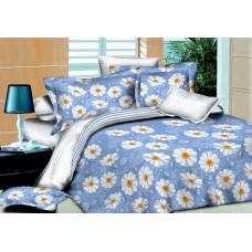 Комплект постельного белья SoundSleep Indigo Daisies семейный R-1559