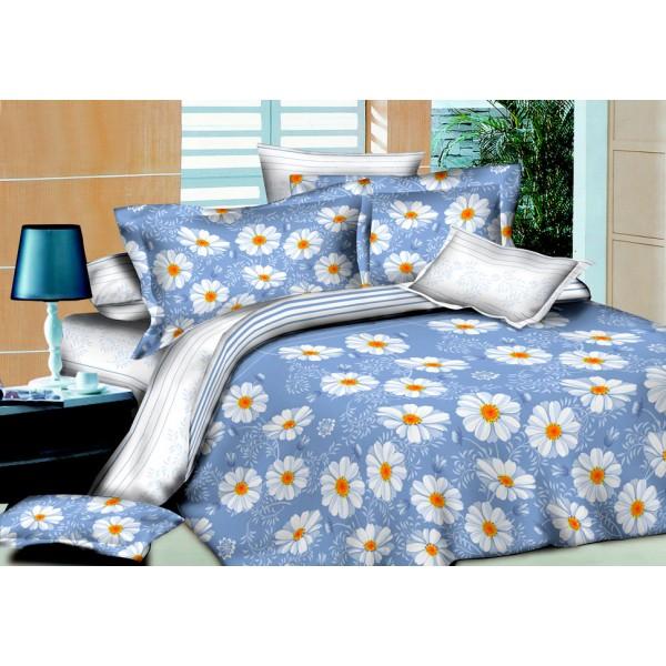 Комплект постельного белья SoundSleep Indigo Daisies полуторный R-1559