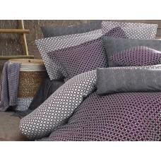 Комплект постельного белья SoundSleep Loyalİty Bordeaux евро Ran-105