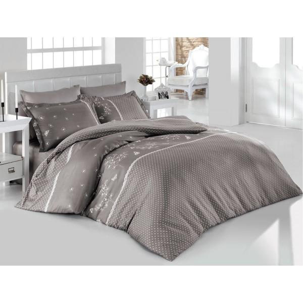 Комплект постельного белья SoundSleep Azara Gri Ran-110 полуторный