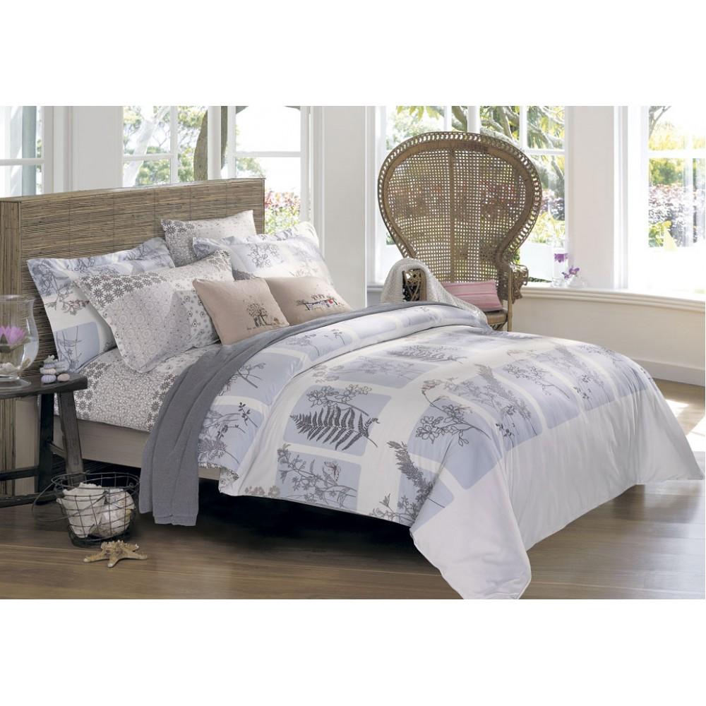 Комплект постельного белья SoundSleep Davos евро S-479