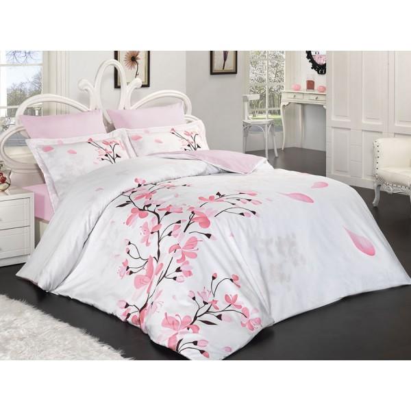 Комплект постельного белья SoundSleep Sakura евро Sat-101