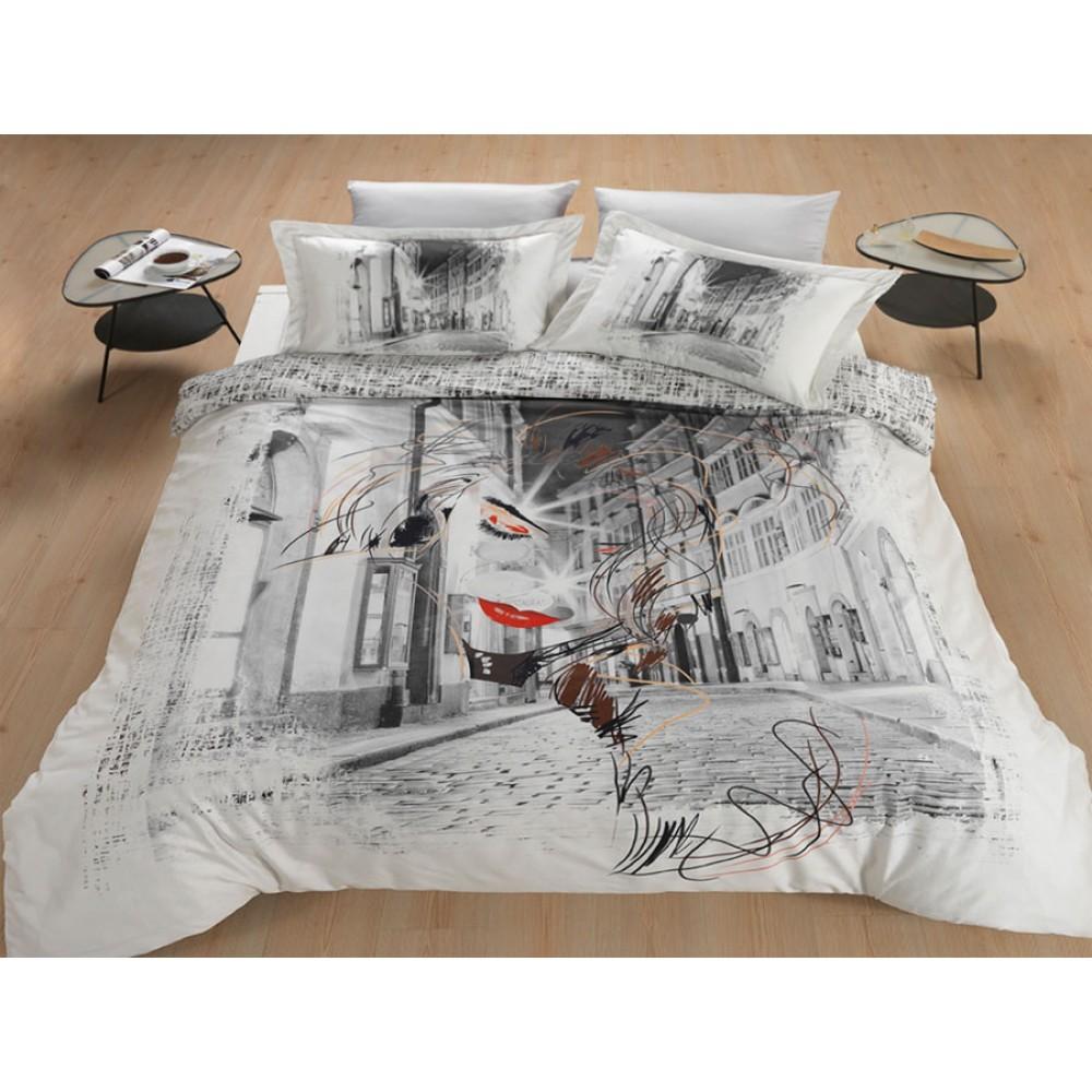 Комплект постельного белья SoundSleep La Via Dell Amor евро Sat-102