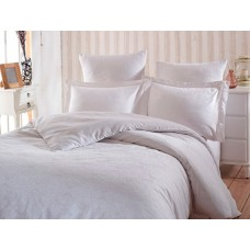 Комплект постельного белья SoundSleep Terassa White Жаккард евро