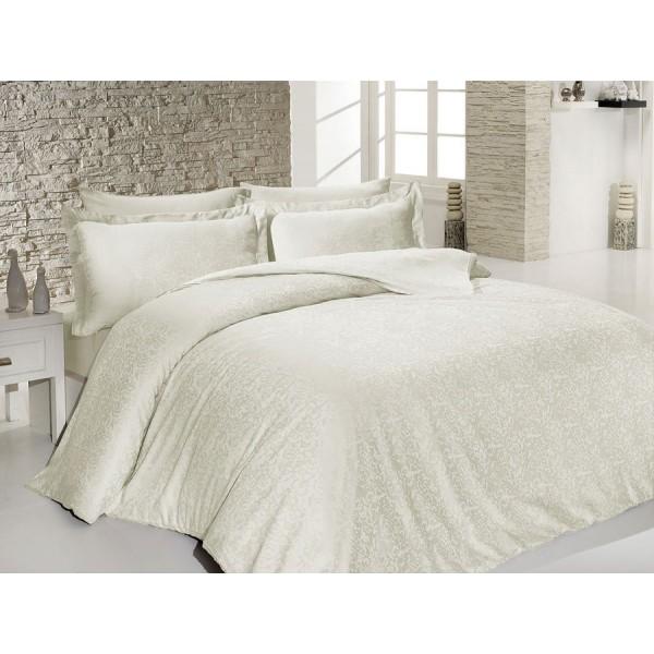 Комплект постельного белья SoundSleep Sarmasik Krem Жаккард евро