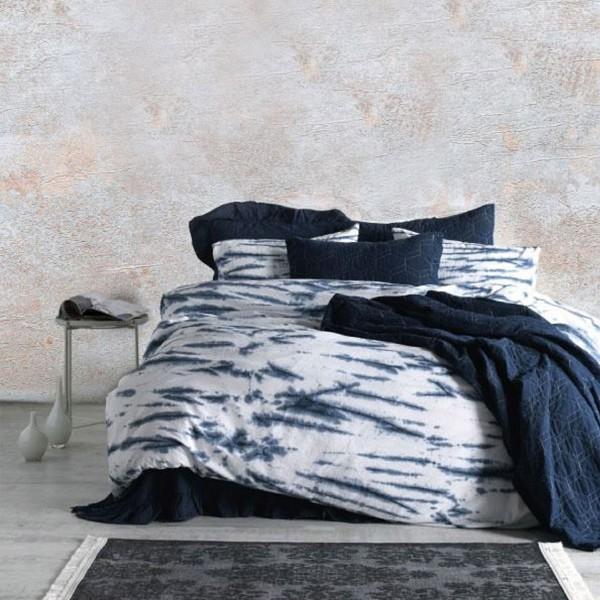 Комплект постельного белья SoundSleep La Calin поплин евро синий