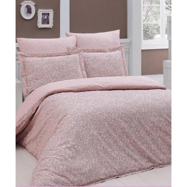 Комплект постельного белья SoundSleep Elenora ранфорс евро Pink