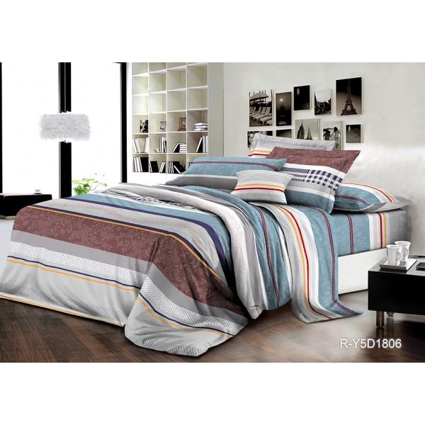 Комплект постельного белья SoundSleep Alesia поплин полуторный