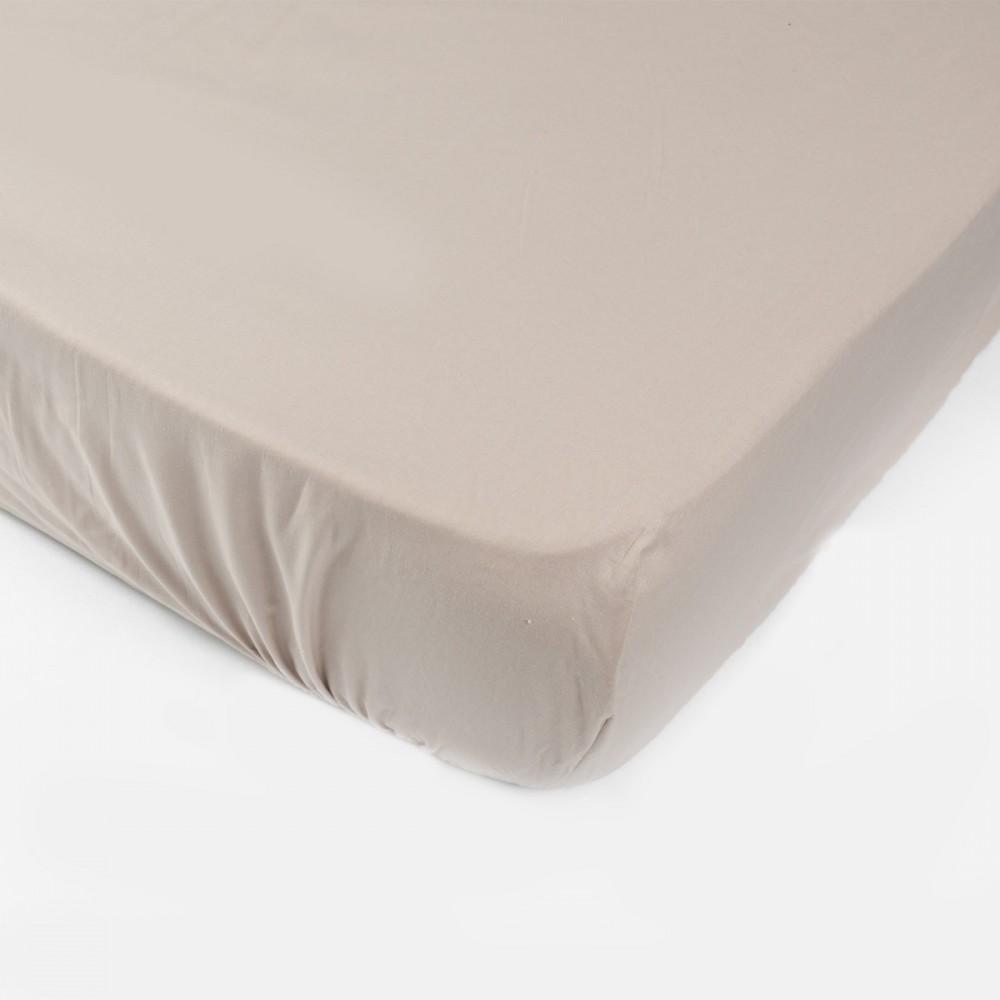 Простынь на резинке SoundSleep 90х200 см мокко