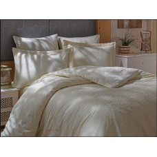 Bed linen set SoundSleep Terassa Crem Jacquard euro