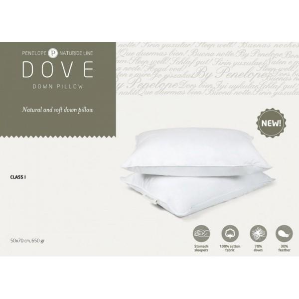 Подушка Penelope Dove пуховая 50х70 см