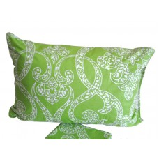 Комплект наволочек Summer ornaments SoundSleep поплин 70х70 см зеленый